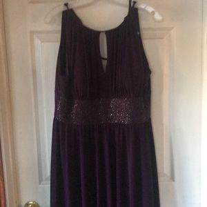 Dresses & Skirts - Floor length purple gown sz 12